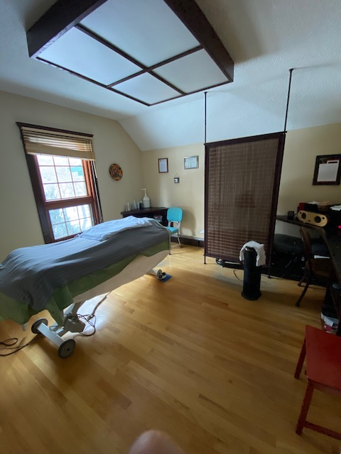 Massage Therapy Room at Collins Chiropractic